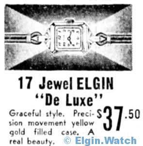 Elgin De Luxe - 1938