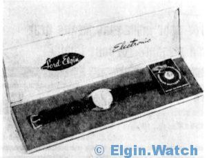 Lord Elgin Electronic 1962