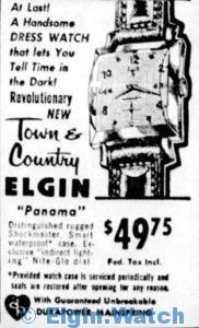 Elgin Town & Country 1954